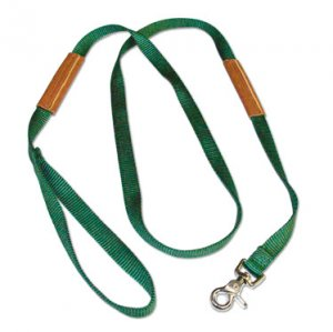 6 Foot Leather Grip Leash
